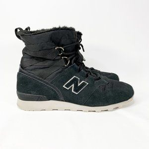 NEW BALANCE Women's Lifestyle Boot Black Suede